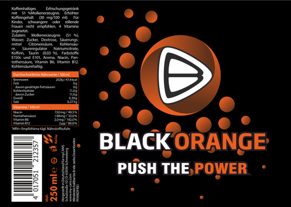 PUSH THE POWER - ENERGYDRINK